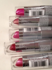 WNW Silk finish lipsticks