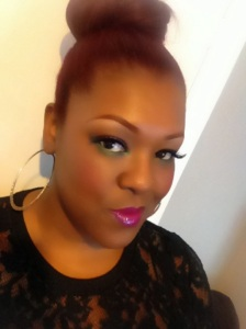 African Queen Hot Pink lips