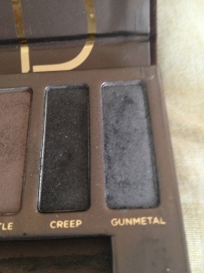 Gunmetal and Creep from Naked Palette