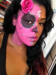 Sugar Skull- pink edition