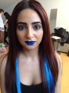 Blue Bomshell