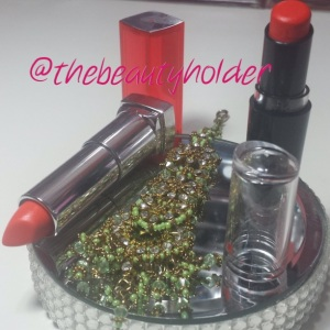 Purty Persimmon by Wetnwild and Electric Orange by Maybelline