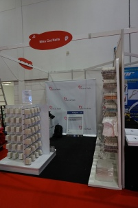 Miss Cat Nails stand at Pro Beauty London